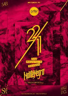 22/11 Mountain Season Montenegro DJ Larissa Conforto @Gypsy Bar, Petropolis - RJ