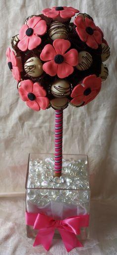 Cake Truffle Topiary