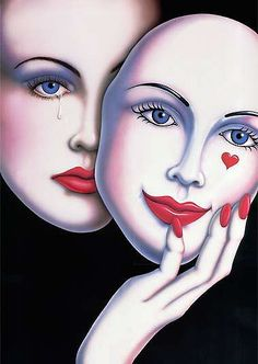 Gail Gastfield ~ Tears Behind The Mask
