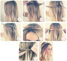 Cuando el tiempo nos juega en contra y queremos vernos hermosas estos peinados pueden ser un aliado para tu belleza de una manera fácil y rápida.