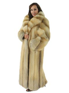 Fendi for I. Magnin LN Genuine Silver Fox Fur Coat | Fursssss ...
