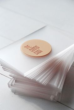 186 best transparent business cards arc reactions images on such a sleek business card design acrylic business cards awards atlanta company colourmoves