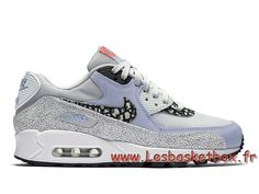 new arrival 54d28 f1227 Nike Wmns Air Max 90 Premium ´Black FiberGlass´ 443817 007 Femme enfant  Officiel Nike