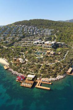 Mandarin Oriental Bodrum, Turkey is the FHRNews #luxury #hoteloftheday for Saturday, December 19.