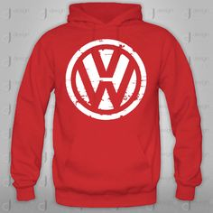 VW Volkswagen hoodie Crewneck Sweatshirt by designandclothing, $44.95 #VW #Volkswagen #Rvinyl