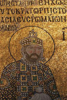Emperor Mosaic in Hagia Sophia, Istanbul