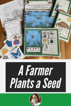 A Farmer Plants a Seed Looking for supports for your springtime unit? Are you planting in your class Primary Lessons, Preschool Lessons, Science Lessons, Lessons For Kids, Circle Time Songs, All About Plants, Fun Songs, Middle School Classroom, English Language Learners
