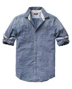 long sleeved japanese styled shirt / scotch & soda