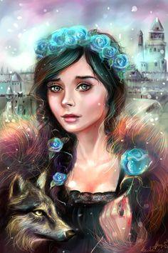 Lyanna Stark by manulys.deviantart.com on @deviantART
