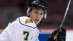 Mathew Tkachuk, draft prospect. A multi-dimensional energy winger that plays a pro-style, adaptive game. Well-versed as a guy who can consistently put up points, but also as an agitator who plays with a little bit of bite and nastiness.