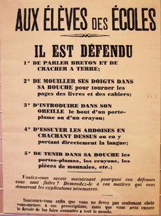 culture et nature Vintage Ads, Vintage Images, Vintage Posters, Vintage Vibes, French Classroom, School Posters, Vintage School, School Days, Brittany