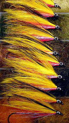 Yellow Marabou Special - A Classic Pattern with a Tying Trick - Global FlyFisher