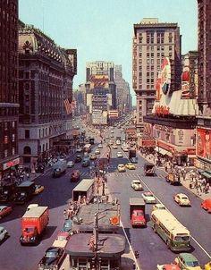 Fuckyeahvintage-retro — NYC 1955