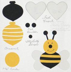 Punch Art bee - bjl so cheerful