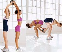 What are friends for? To work out with! Try this 6-minute toning routine with your workout buddy.