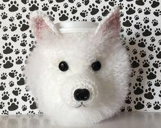 American Eskimo Dog (Cozy), Doggy Mom, Crazy Dog Lady, Dog Lover Gift, Dog Trainer, Dog Breed Gifts, Fur Mama, Dog Walker Gift, Mug Cozy