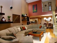 Love this extra long sectional couch