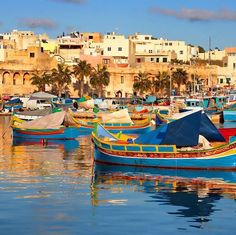 #Colourful Wednesday #afternoon at #Marsaxlokk  Featured Photographer: @sirdoctorkiller  Tag your #photos with #MaltaPhotography to get a chance to be #featured on @maltaphotography - http://www.globedition.com/maltaphotography  #luzzu #boat #village #Tuesday #sea #blue #colours #island #jj #Malta #November #Photography #instagramhub #instafamous #photooftheday #picoftheday #lonelyplanet #travel #destination #worlderlust #beautifuldestinations