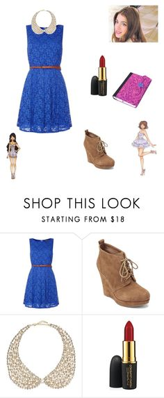 """hggy"" by maria-look ❤ liked on Polyvore featuring Mela Loves London, Jessica Simpson, River Island, MAC Cosmetics, Disney, women's clothing, women, female, woman and misses"
