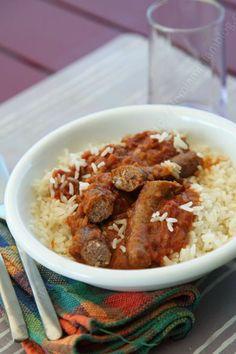 Sausage Stew South Jamie Oliver in my way ► Mijoté de saucisses selon Jamie Oliver ♨ #sausage #stew #JamieOliver