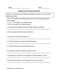 These Punctuation worksheets are great for working with Punctuation. Use these punctuation worksheets for the beginner and intermediate levels. 7th Grade English, Punctuation Worksheets, Sentence Writing, Quotation Marks, Math Teacher, Reading Lists, Teaching Resources, Sentences, Quotations