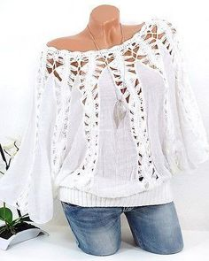 Discover the daily pre order and collections for the latest women's fashion and trends at Floryday. Women's Fashion Dresses, Boho Fashion, Blouse Sexy, Latest Fashion For Women, Womens Fashion, Fall Shirts, T Shirt Diy, Personalized T Shirts, Casual Elegance