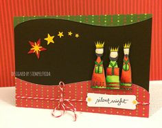 12 Days of Christmas Cards entry by stempelfirda 12 Days Of Christmas, Christmas Cards, E Cards, Copic, Mixed Media, Card Making, Stamp, Scrapbook, Blog
