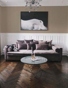 Sofa, velour, 3 pers. – dba.dk – Køb og Salg af Nyt og Brugt Bolia Sofa, Mr Big, Big Sofas, Design, Persian People