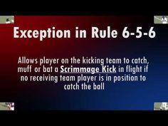 2020 Football Officials Video 2 Football Officials, Football And Basketball
