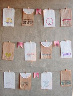 50 Favor Candy Treat Bags  Hand drawn Arrow by FoxandHoundPaperie, $30.00