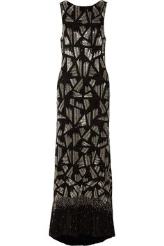 ALICE + OLIVIA Vivienne embellished chiffon gown $853.65 http://www.theoutnet.com/products/507205