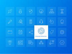 Industrial IoT Corporate Website Icon Set