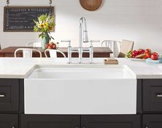 Merveilleux Elkay Fireclay X X Double Bowl Farmhouse Sink White With Aqua Divide