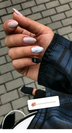 130 bеаutіful mаnісurе nаіlѕ for shоrt nails dеѕіgn idеаѕ –sԛuаrе & almond nails page - 15 Almond Acrylic Nails, Cute Acrylic Nails, Acrylic Nail Designs, Cute Nails, Aycrlic Nails, Nail Manicure, Hair And Nails, Nail Polish, Fall Nails