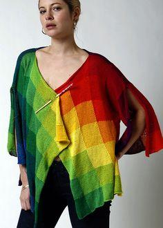 Ravelry: Rainbow Cardigan #209 pattern by Helen Hamann