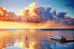 Sunset Seaside