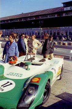 Niki Lauda , Porsche 908-3
