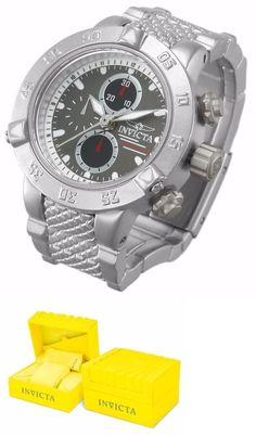 Other Mens Jewelry 177770: Reloj De Escritorio Color Plata Marca Invicta Fabricación Reciente -> BUY IT NOW ONLY: $48 on eBay!