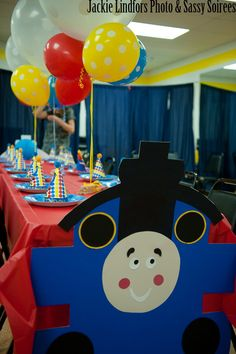 Paper train ashers second birthday ideas Pinterest