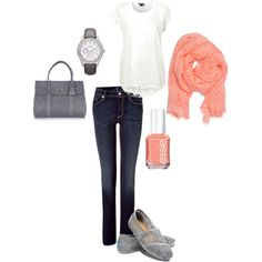 casual, created by chelseacattano on Polyvore
