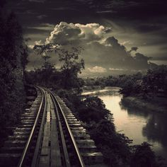 Life Is A Long Set Of Tracks.