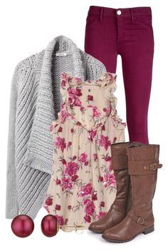 Rose Garden by qtpiekelso on Polyvore featuring Helmut Lang, Rebecca Taylor, Goldsign and A B Davis