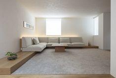 living room | WORKS | SEKI DESIGN STUDIO Couch Design, Here's The Thing, It Works, Minimalist, Living Room, Studio, Interior, Furniture, Home Decor