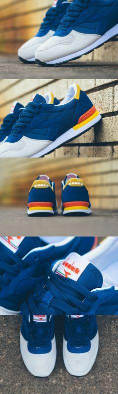 e2b2d1535  DIADORA  CAMARO  DOUBLE LL –  WHITE    VERMILLION · Sneaker HeadsSneaker  GamesDiadora SneakersFashion GamesMen FashionSports ...
