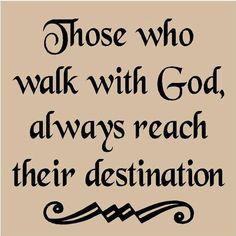 Let Him lead you!