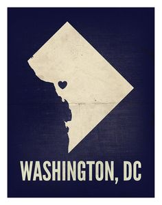 Washington DC Love Print 8 x 10 by amycnelson on Etsy, $19.99