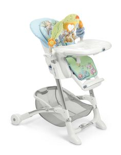 Cam Istante Hellblau Eule Kinderhochstuhl für Kinder von 0 bis 36 Monate