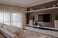 COMO DECORAR E INTEGRAR A SALA DE ESTAR E HOME THEATER                                                                                                                                                                                 Mais