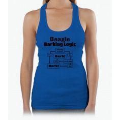 Beagle Logic Shirt Womens Tank Top