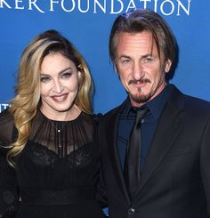 Love Notes: Exes Madonna and Sean Penn Reunite at a Charity Event — See the Pics!